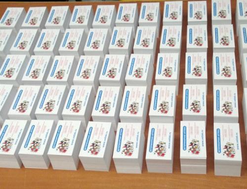 10 тысяч визиток — это сколько?